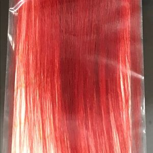 Red Synthetic Ponytail 36""
